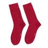 Červené pánské ponožky vysoké bata, červená, 919-5646 - 26