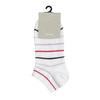 Dámské kotníkové ponožky bílé s pruhy bata, bílá, 919-1815 - 13