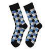 Kostičkované pánské ponožky bata, vícebarevné, modrá, 919-9801 - 26