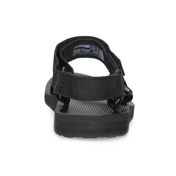 Černé dámské sandály v Outdoor stylu teva, černá, 569-6535 - 15