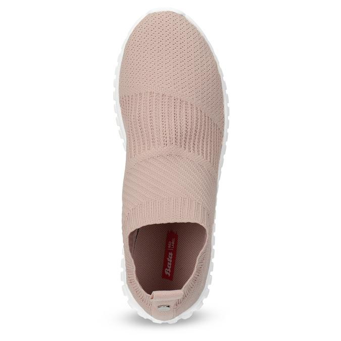 Dámské tenisky s úpletem bata-red-label, růžová, 539-5603 - 17