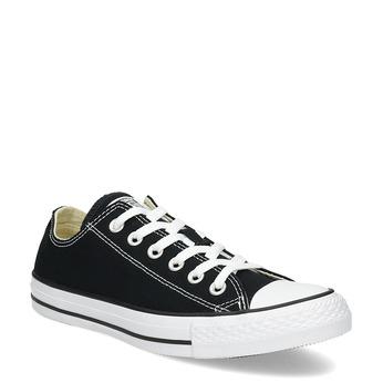 Dámské černé tenisky s gumovou špičkou converse, černá, 589-6279 - 13