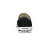 Dámské černé tenisky s gumovou špičkou converse, černá, 589-6279 - 15