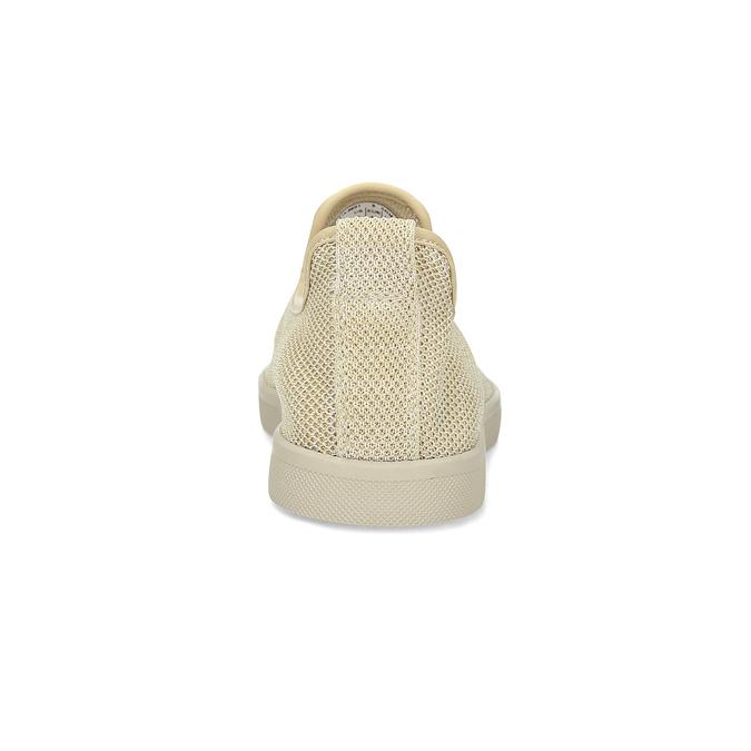 Béžové pánské Slip-on boty bata-red-label, béžová, 839-8601 - 15