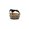 Kožené pánské žabky bata, černá, 866-6848 - 15