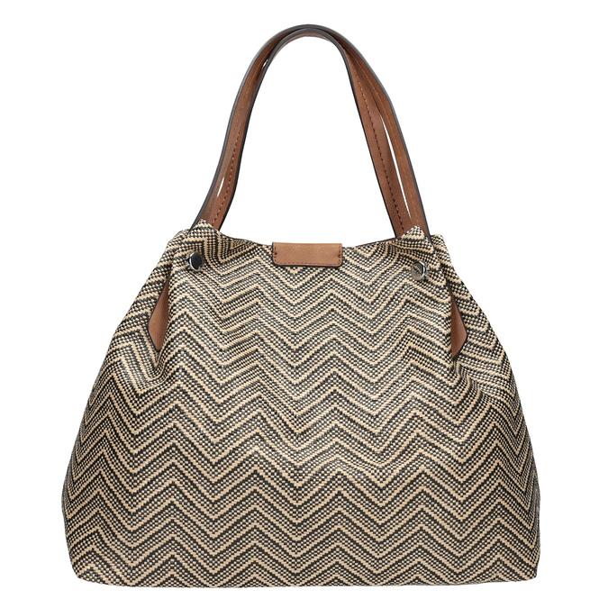Dámská kabelka se vzorem bata, vícebarevné, 969-6196 - 26
