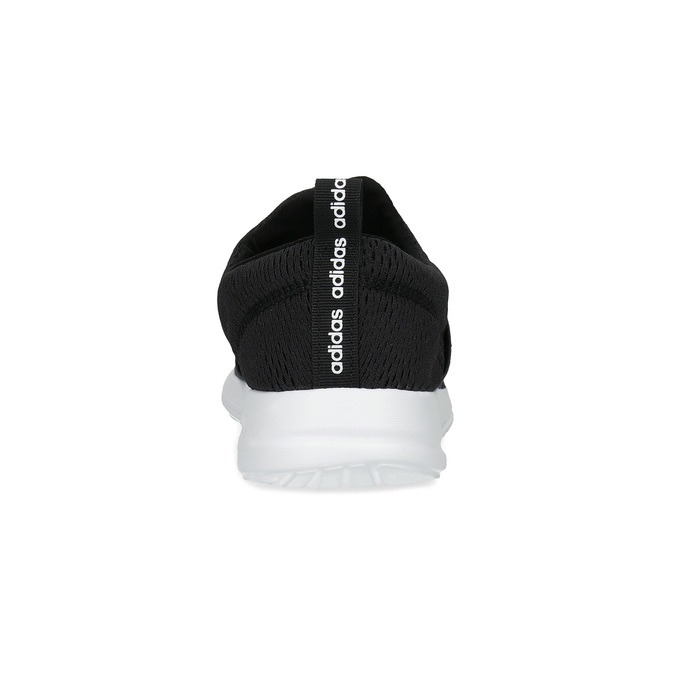 Černé nazouvací tenisky adidas, černá, 509-6565 - 15