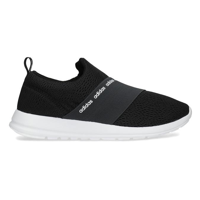 Černé nazouvací tenisky adidas, černá, 509-6565 - 19