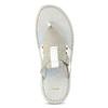 Pánské kožené bílé žabky bata, bílá, 866-1637 - 17
