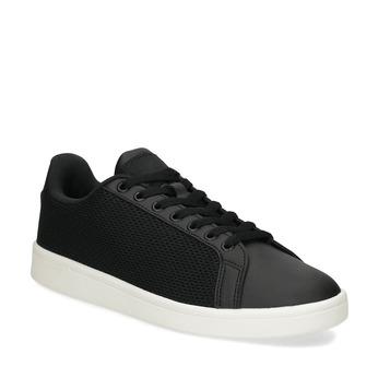 Černé pánské tenisky se síťovinou adidas, černá, 809-6395 - 13