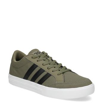 Pánské khaki tenisky adidas, khaki, 889-7235 - 13