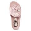 Růžové saténové nazouváky s perličkami bata, růžová, 569-5615 - 17