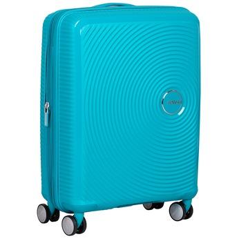 Tyrkysový skořepinový kufr american-tourister, modrá, tyrkysová, 960-9615 - 13