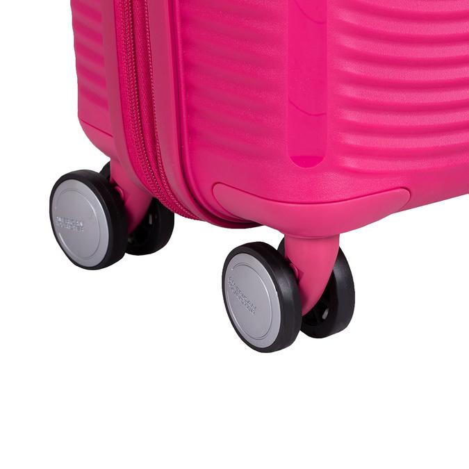 Růžový skořepinový kufr american-tourister, růžová, 960-5615 - 16