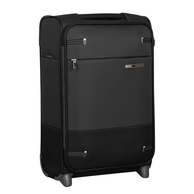 Menší cestovní kufr černý samsonite, černá, 969-6617 - 13