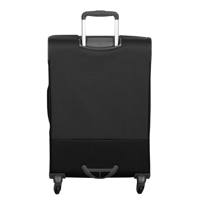 Černý textilní kufr samsonite, černá, 960-6039 - 26