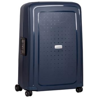 Modrý kufr na kolečkách s pevnou skořepinou samsonite, modrá, 960-9612 - 13