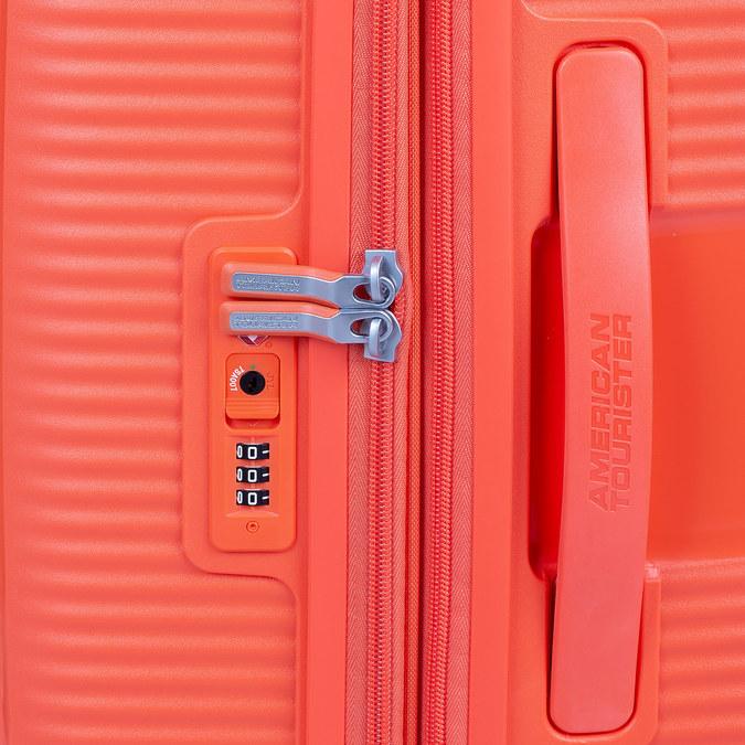 Oranžový kufr na kolečkách american-tourister, oranžová, 960-5614 - 15