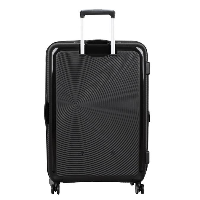 Černý kufr se skořepinou na kolečkách american-tourister, černá, 960-6613 - 26