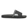 Jednoduché černé pánské nazouváky bata, černá, 861-6602 - 19