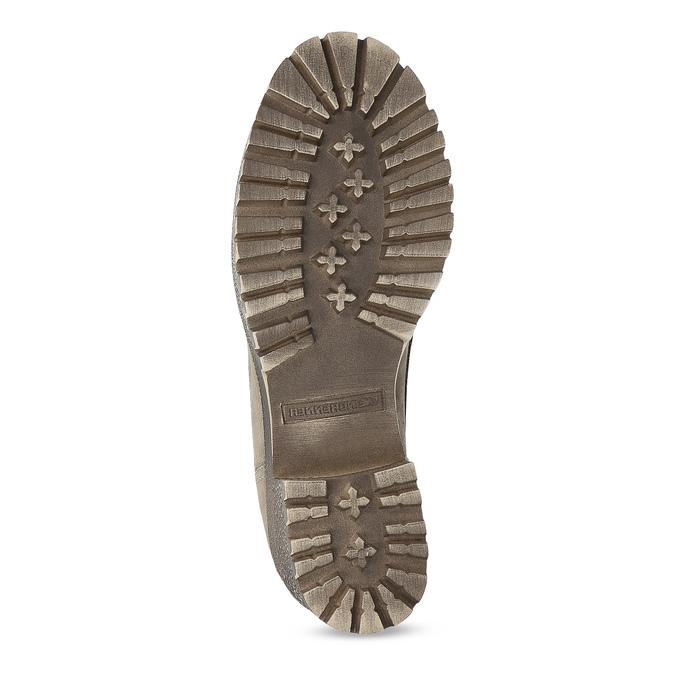 Dámská hnědá zimní obuv z broušené kůže weinbrenner, hnědá, 696-4336 - 18