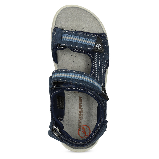 Modré chlapecké sandály weinbrenner, modrá, 463-9605 - 17