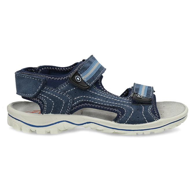 Modré chlapecké sandály weinbrenner, modrá, 463-9605 - 19
