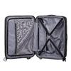 Černý skořepinový kufr na kolečkách american-tourister, černá, 960-6614 - 17