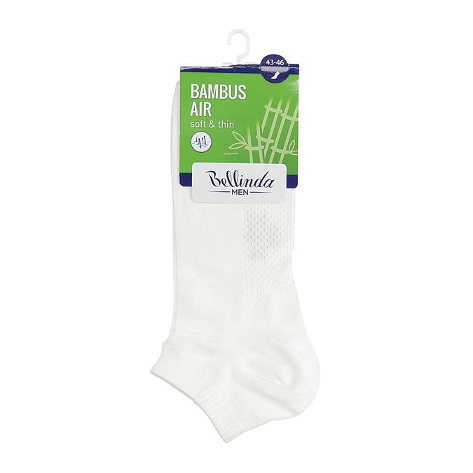 Pánské kotníčkové bílé ponožky bellinda, bílá, 919-1906 - 13