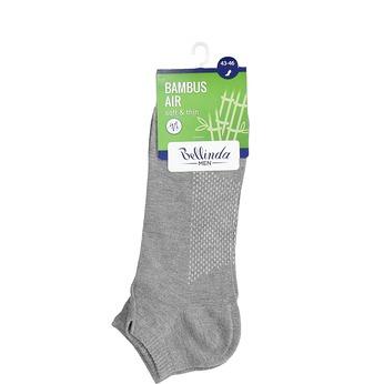 Pánské kotníčkové šedé ponožky bellinda, šedá, 919-2906 - 13