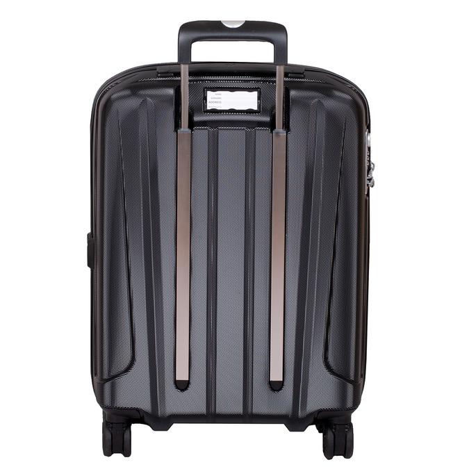 Černý kufr na kolečkách pevný malý roncato, černá, 960-6735 - 26
