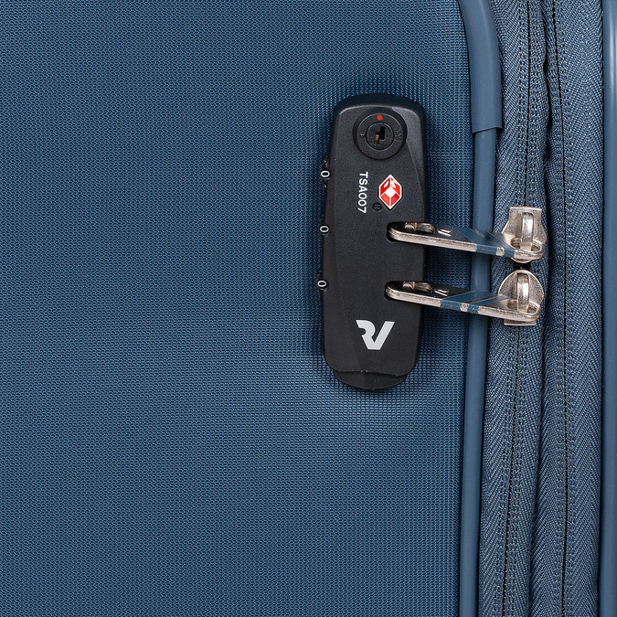 Palubní kufr tyrkysový roncato, modrá, 969-9722 - 15