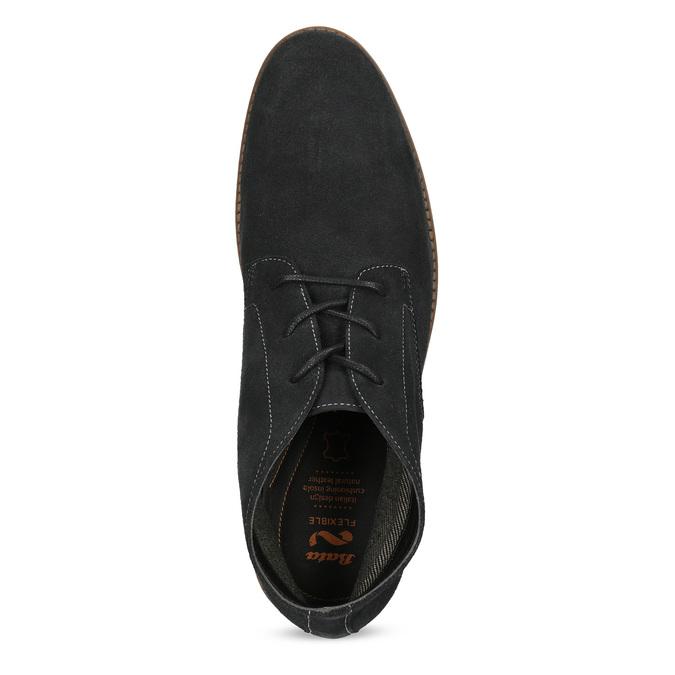 Pánská kotníčková kožená obuv modrá flexible, modrá, 823-2632 - 17