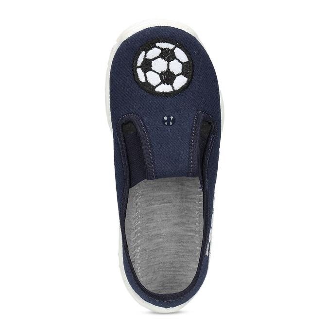 Tmavě modrá dětská Slip-on obuv mini-b, modrá, 379-9601 - 17