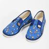 Modré dětské přezůvky se vzorem bata, modrá, 179-9213 - 16