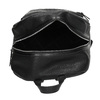 Černý dámský batoh s kamínky bata, černá, 961-6867 - 15