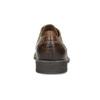 Hnědé kožené pánské polobotky bata, hnědá, 826-3866 - 15