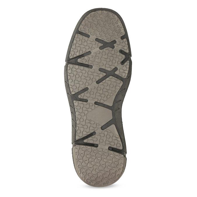 Kožená pánská kotníčková obuv bata, hnědá, 846-4718 - 18