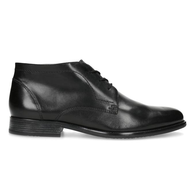Pánská kožená kotníčková obuv bata, černá, 824-6892 - 19