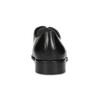 Kožené pánské Derby polobotky s prošitím bata, černá, 824-6633 - 15