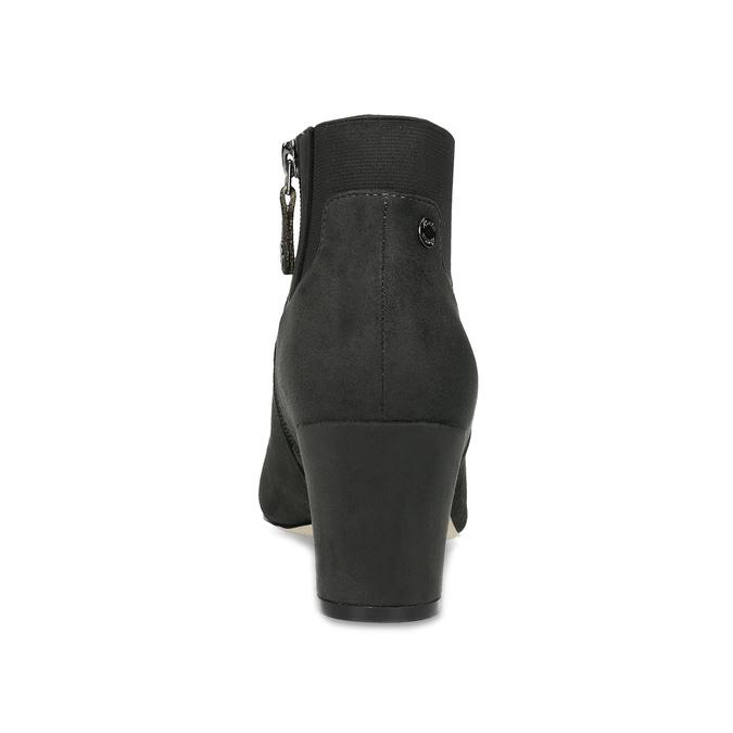 Šedá dámská kotníčková obuv s elastickou patou bata, šedá, 799-2625 - 15