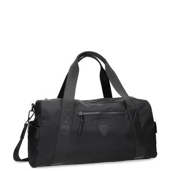 Černá cestovní taška s popruhem atletico, černá, 969-6690 - 13