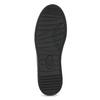 Černé dámské tenisky s kamínky bata-light, černá, 549-6611 - 18