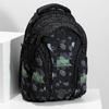 Školní batoh černý bagmaster, zelená, 969-7718 - 17