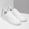 Bílé dámské tenisky s perforací adidas, bílá, 501-1800 - 26