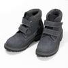 Dětská kožená kotníčková obuv na suché zipy weinbrenner, modrá, 216-9201 - 16