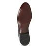 Pánské kožené polobotky černé lesklé conhpol, černá, 828-6609 - 18