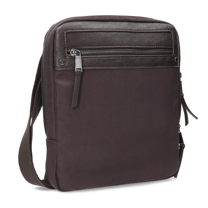 Pánská crossbody taška bata, hnědá, 969-4692 - 13