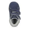 Dětská kožená kotníčková obuv bubblegummers, modrá, 113-9612 - 17