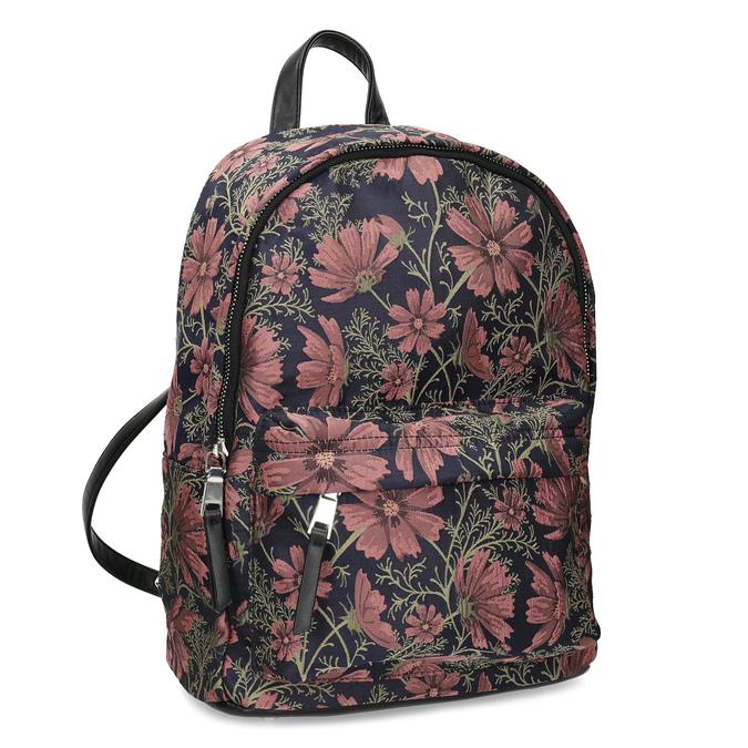 Batoh s květinovým vzorem bata, vícebarevné, 969-0703 - 13